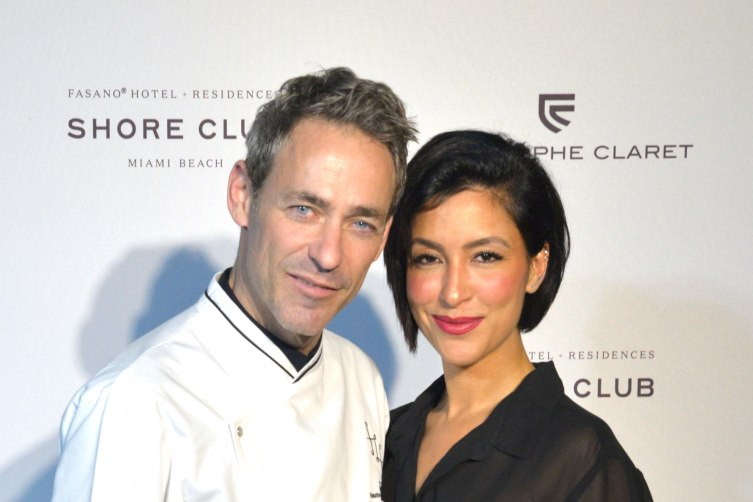 Chef Martin Rodrigue and Violet Camacho