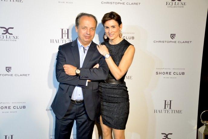 Christophe Claret and Christine Claret