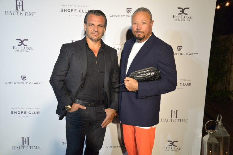 Enrico Romagnoli and Richard Charlton