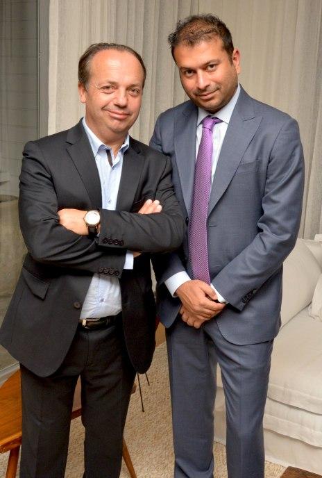 Christophe Claret and Kamal Hotchandani