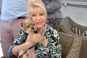 Ivana Trump celebrating her birthday