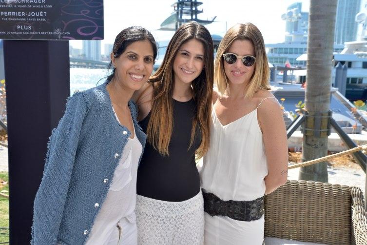 Malti Wadhwani, Andrea Cardenas and  Julia Gourd