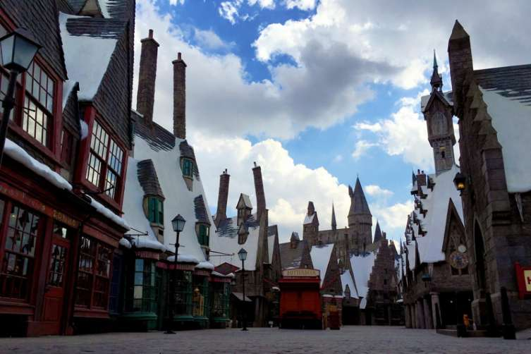The Wizarding World of Harry Potter at Universal Studios Hollywood 5