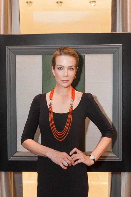 Model wearing Van Cleef & Arpels