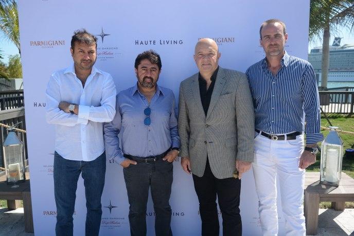 Kamal Hotchandani, Mehmet Bayraktar, Thierry Collot, Justin Blue