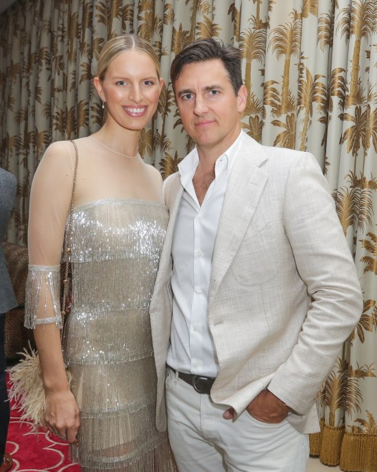 Model Karolina Kurkova and Archie Drury (Photo by John Parra/Getty Images for Krug Champagne)