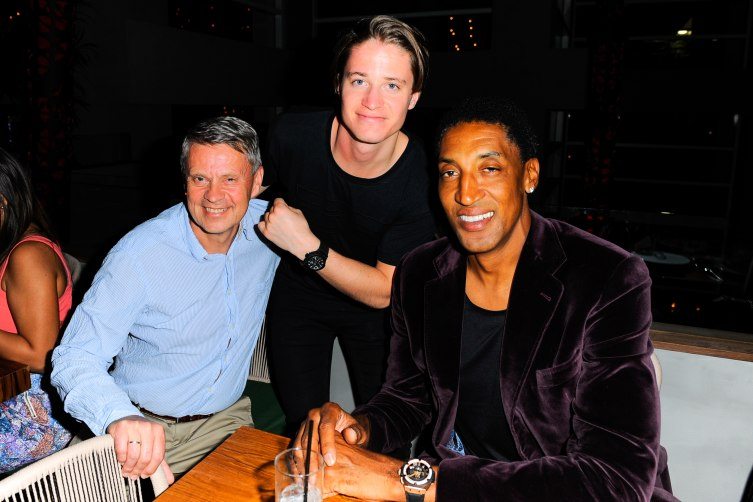 Kygo and Scottie Pippen