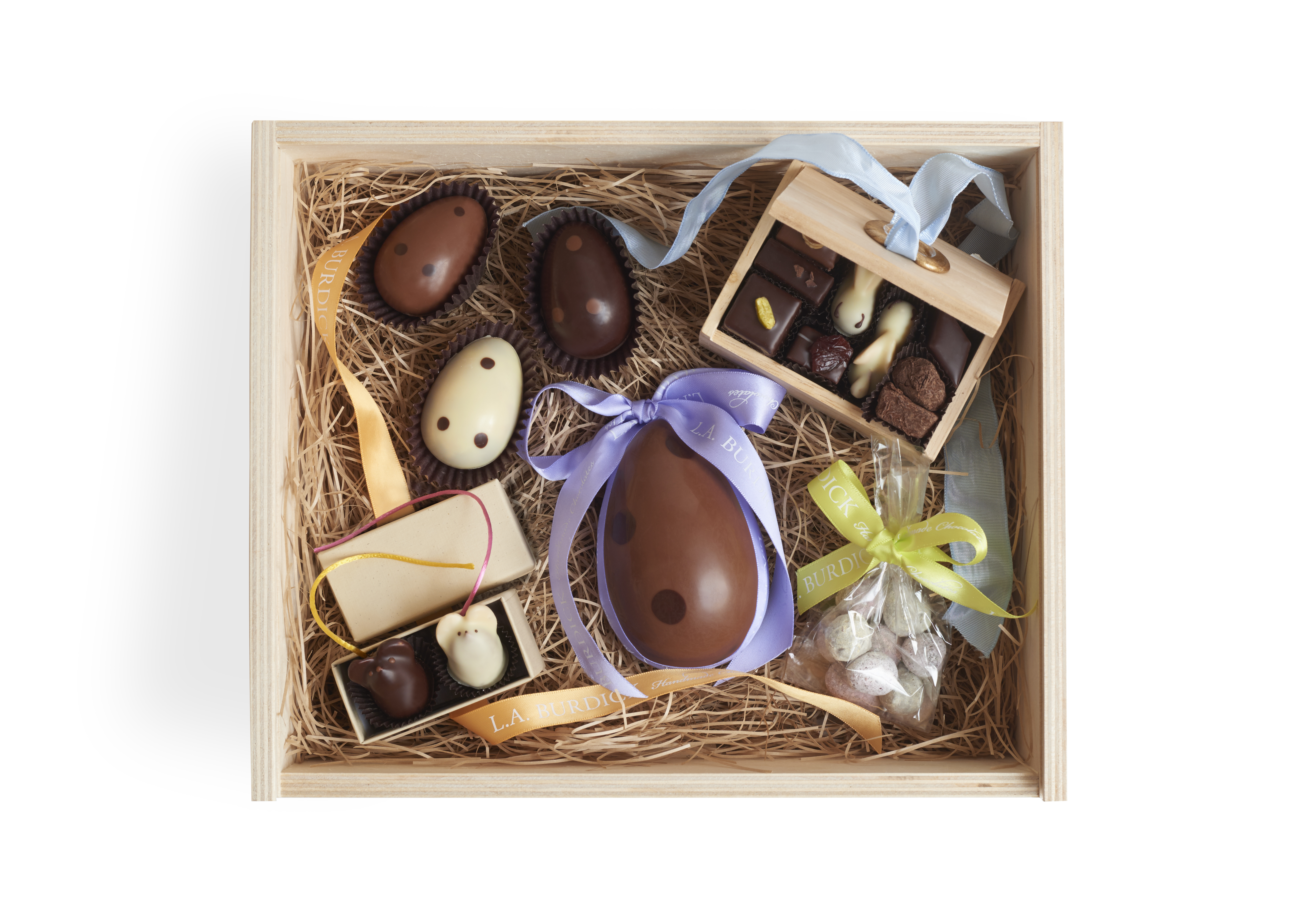 l a burdick handmade chocolates 5 decadent easter baskets for toddlers tweens and adults 7945