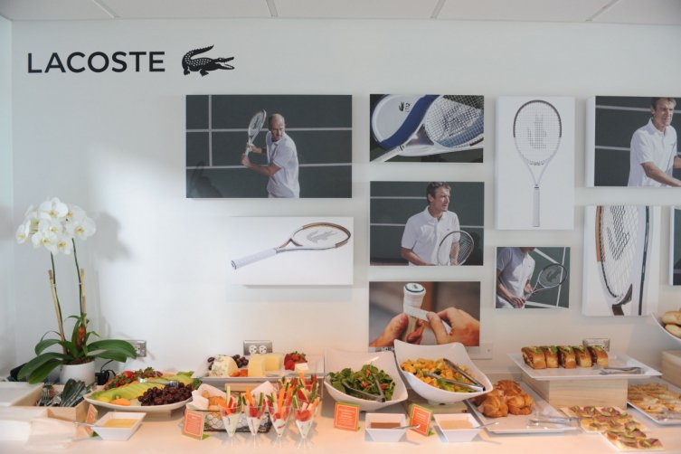 Inside the Lacoste Suite