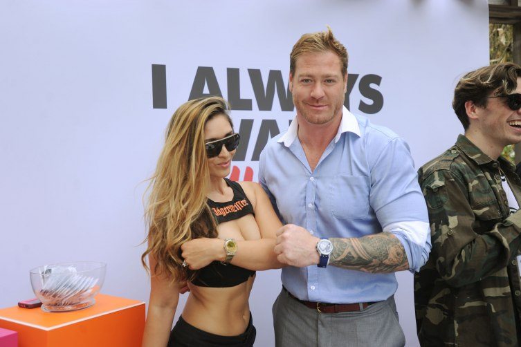 Melanie Tillbrook & Jeremy Shockey