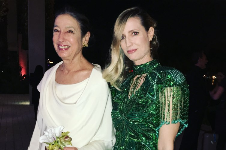 Michele Oka Doner and Hadley Henriette