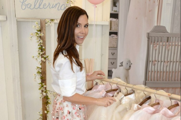 Monique Lhuillier for Pottery Barn Kids Collection Launch 1