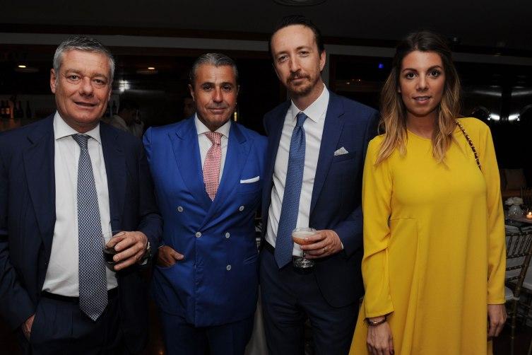 Paolo Pininfarina, Riccardo Usai, Matteo De Lise and Greta Pininfarina
