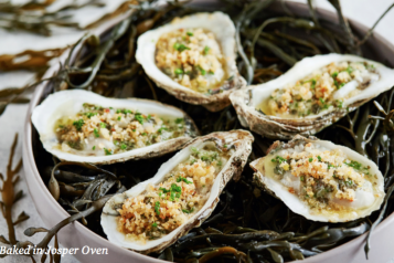 Charcoal Venice Oysters