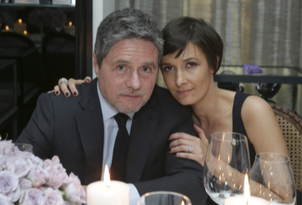 Cassandra and Brad Grey