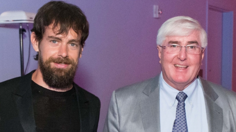 Jack Dorsey and Ron Conway