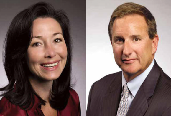 Safra Katz and Mark Hurd
