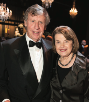 RICHARD C. BLUM AND DIANNE FEINSTEIN