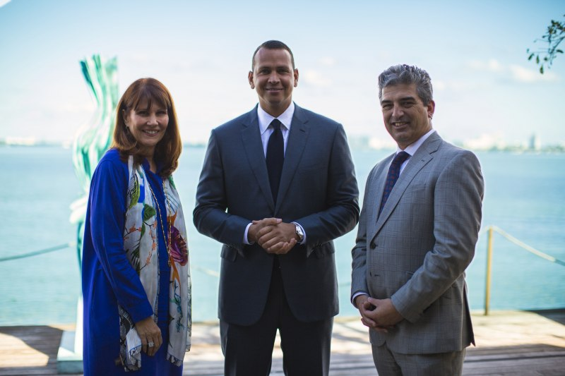 Sonia Figueroa, Alex Rodriguez and Carlos Rosso Photo Credit: Michael Tamzil