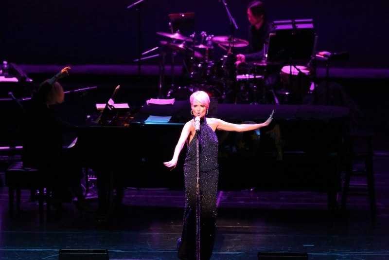 Kristin Chenoweth on New Years Eve 2013 at The Smith Center