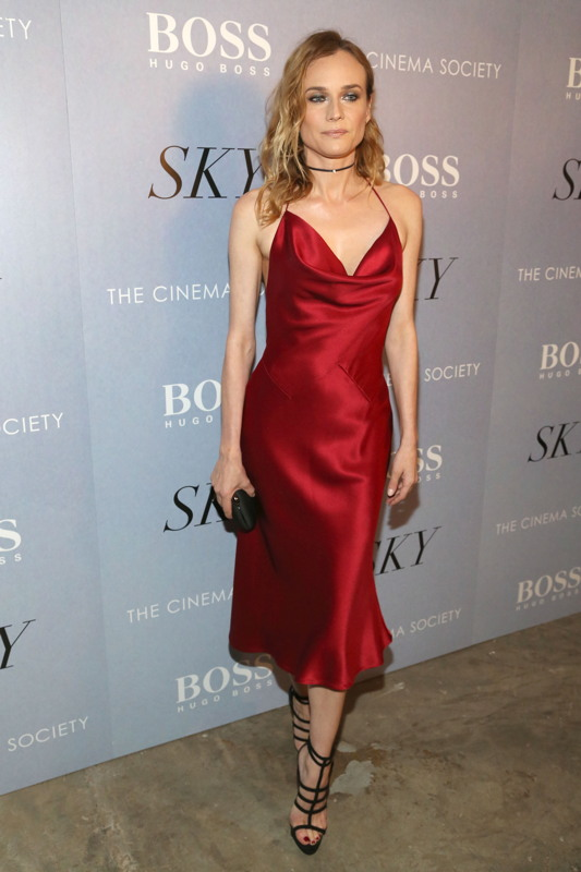 Diane Kruger at The Cinema Society and Hugo Boss Premiere of IFC Films Sky. All photos: Sylvain Gaboury/PMC ==