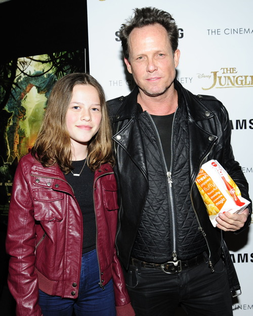 "Ruby Winters, Dean Winters== Disney with The Cinema Society & Samsung host a screening of ""The Jungle Book""== AMC Empire, NYC== April 7, 2016== ©Patrick McMullan== Photo - Paul Bruinooge/PMC== =="