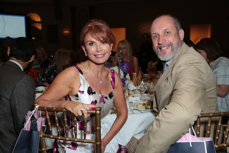 Roma Downey and Peter Copping