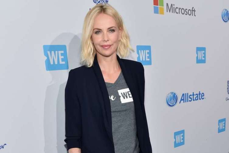 Academy Award-winning actress and Founder of Charlize Theron Africa Outreach Project and Honorary Co-Chair of WE Day California Charlize Theron attends WE Day California 2016 at The Forum on April 7