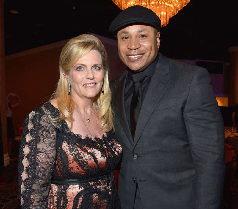 Host Nancy Davis and actor/rapper LL Cool J attend the 23rd Annual Race To Erase MS Gala