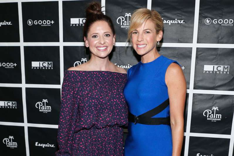 Sarah Michelle Gellar and GOOD+ Foundation founder Jessica Seinfeld