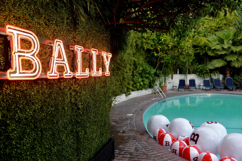A view of Bally dinner, celebrating Beverly Hills flagship store opening