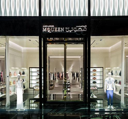 Alexander McQueen Dubai Mall of Emirates Dr. Nasrine