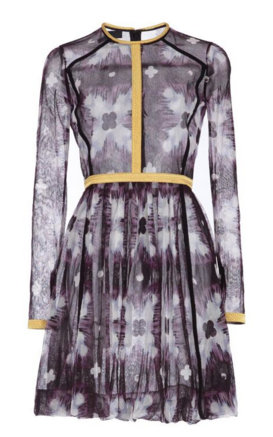 Burberry's Digital Tie Dye Cotton Tulle Dress is flawless.