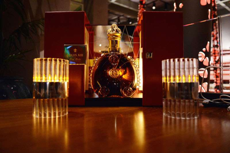 Louis XIII bottle for Kamal Hotchandani