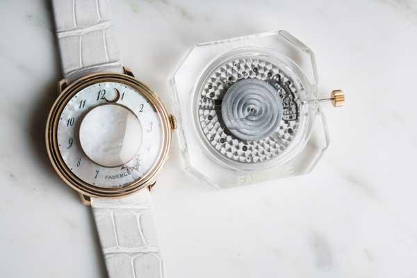 FABERGE---DALLIANCE-Faberge---Lady-Levity-White-Strap-Watch-2016-1024x683