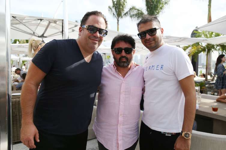 Joey Goldman, Mehmet Bayraktar and Kamal Hotchandani