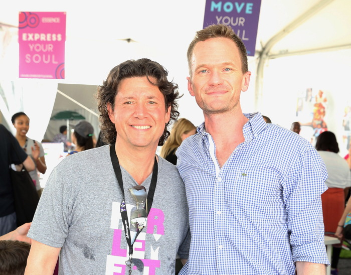 NEW YORK, NY - MAY 17: Herb Karlitz and Neil Patrick Harris attend A Sunday Afternoon In Harlem Presented By Aetna during the Harlem EatUp! Festival on May 17, 2015 in New York City. (Photo by Robin Marchant/Getty Images for Harlem EatUp!)