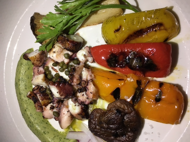 Charcoal Grilled Octopus