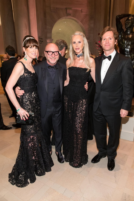 Allison Speer, Domenico Dolce, Vanessa Getty, Trevor Traina