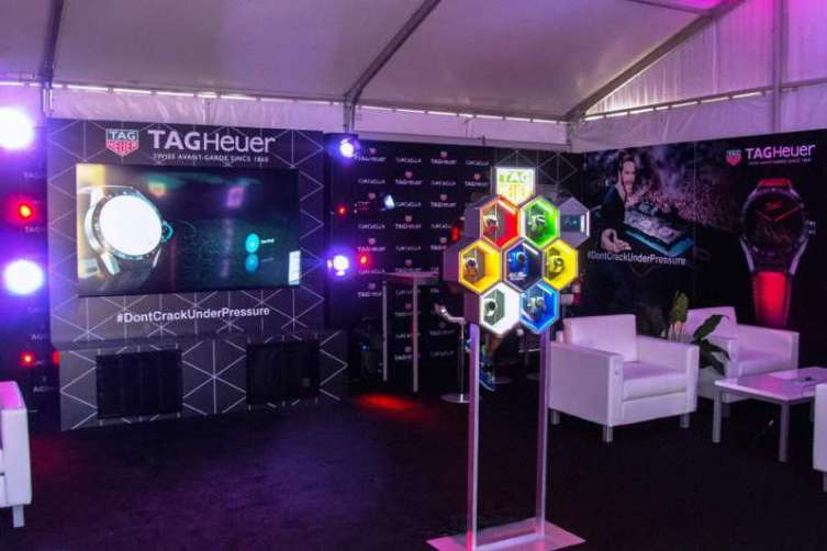 Tag Heuer at Coachella 1