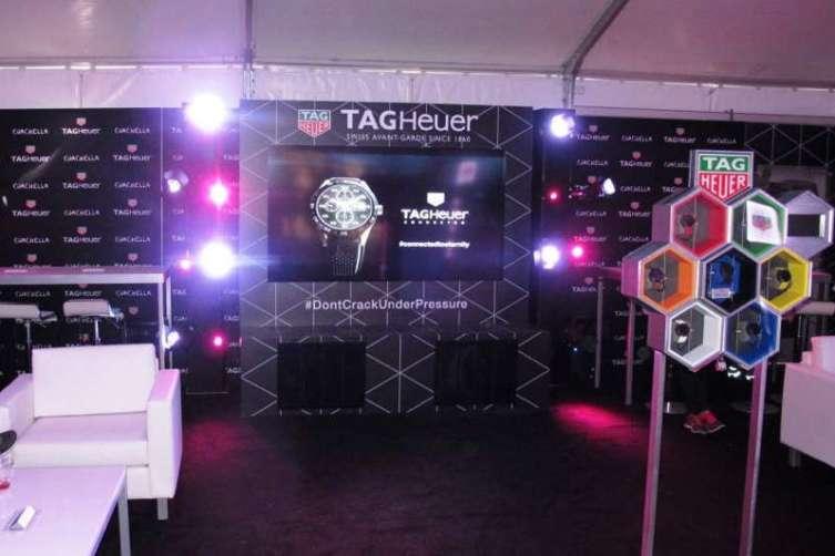 Tag Heuer at Coachella 3