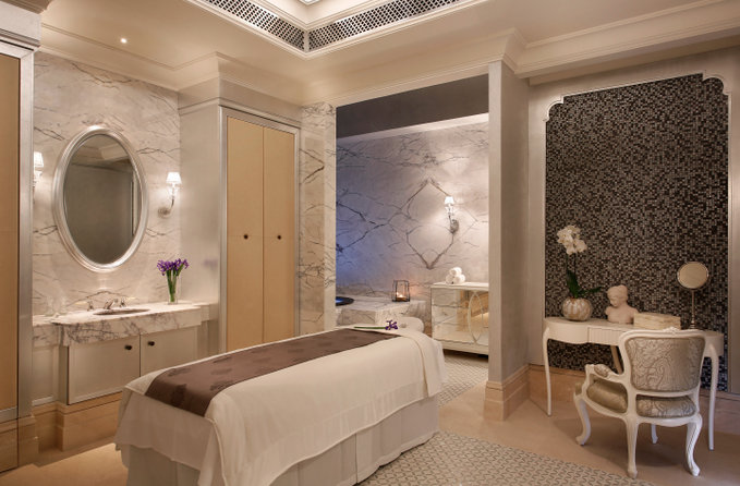 The Ladies Treatment Room at Iridium Spa.
