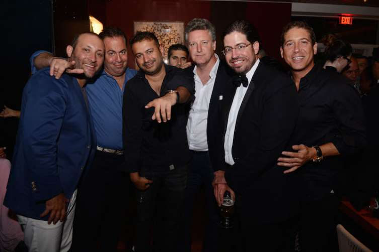 Keith Menin, Joey Goldman, Kamal Hotchandani, Sunjay Hotchandani, Yves De Launay, Lance Burstyn