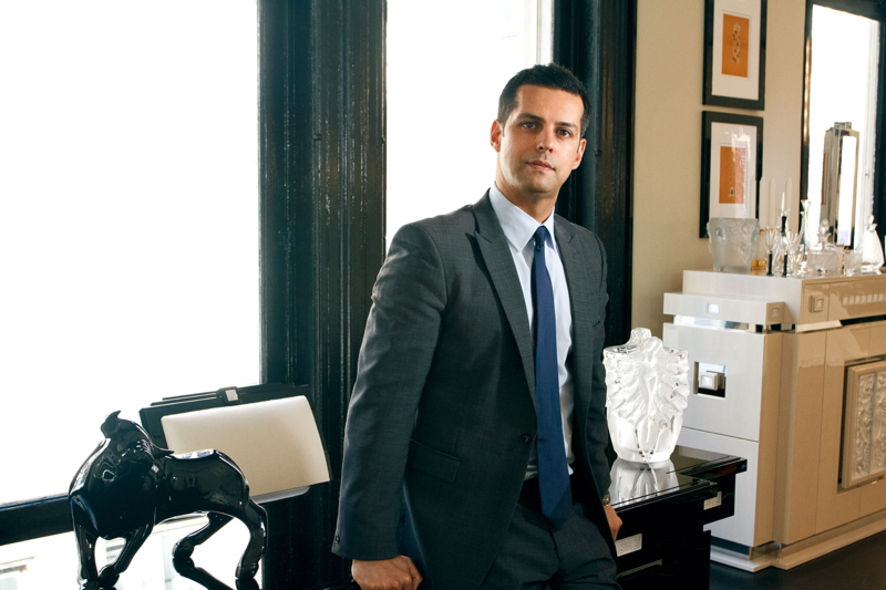 Maz Zouhairi, president and CEO of Lalique North America