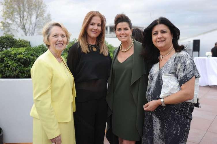 Marilyn March, Diane Boytel, Darlene Perez, & Tatiana Rengifo
