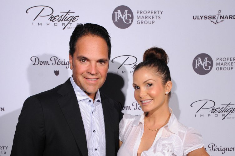 Mike and Alicia Piazza at Haute 100 event