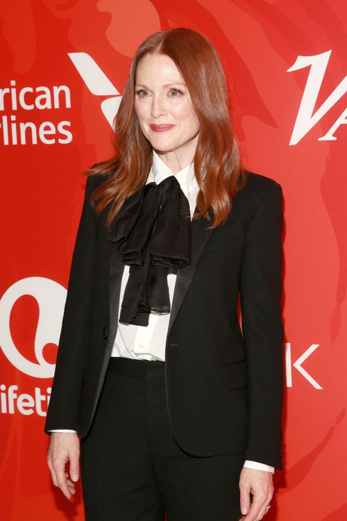 Mandatory Credit: Photo by Amy Sussman/Variety/REX/Shutterstock (5624575ax) Julianne Moore Variety's Power of Women NY Presented by Lifetime, Arrivals, New York, America - 08 Apr 2016