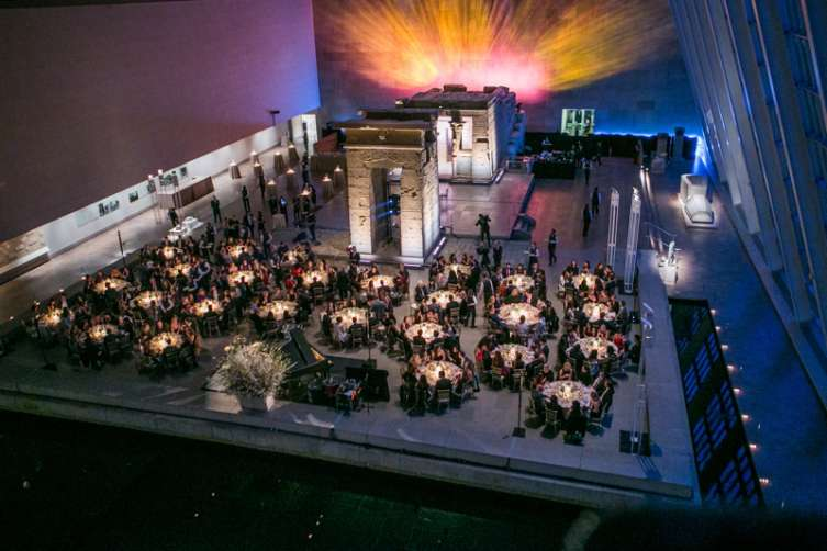 National YoungArts Foundation Inaugural Gala dinner at the Temple of Dendur