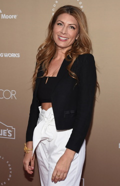 Host Genevieve Gorder at the gala, which was held at the Metropolitan Pavilion