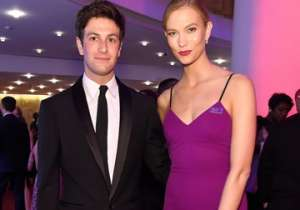 Karlie Kloss and Joshua Kushner.